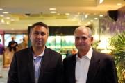 Chris Fronczek with Dr Latin
