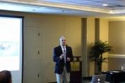 Dr Rick Latin addressing attendees